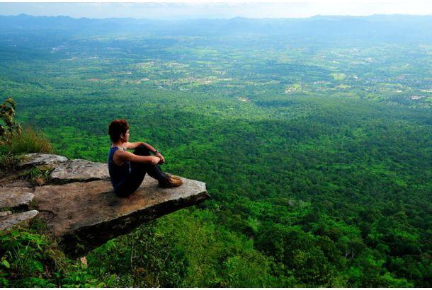 Photographed byWarachai Krengwiratじっくりと深く考えたいとき、どこに行きますか? こんな場所...