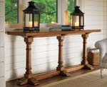 Twilight Bay Veronica Chestnut Console Table by Lexington Home Brands