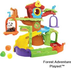 Our kids love finding gifts from Vtech under the Christmas tree - this year the  the Go! Go! Smart Playsets from VTech makes great gifts.