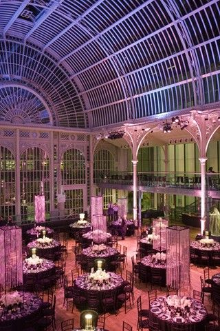 stunning wedding reception at The Royal Opera House in London