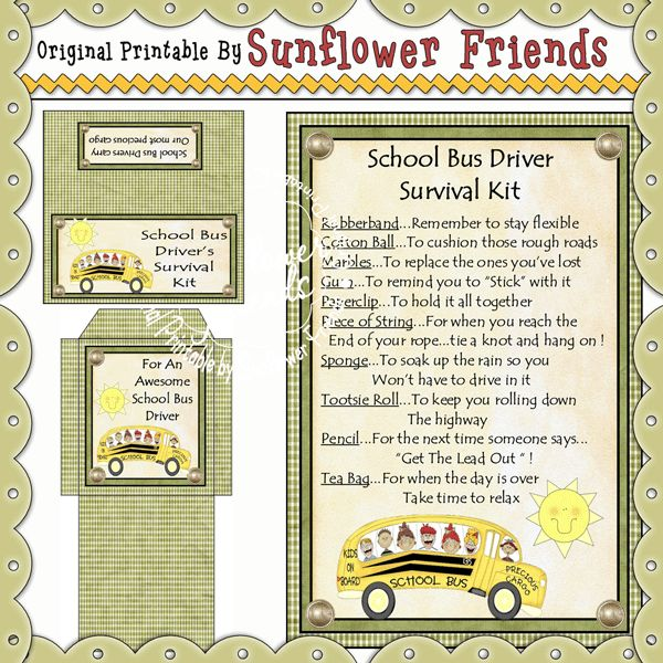 School Bus Driver Retirement Poems | Poemview.co