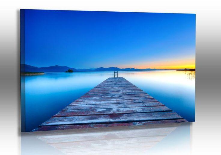 Naturbilder - Landschaft - Bild - Wolken - Sonnenuntergang - Wandbilder XXL