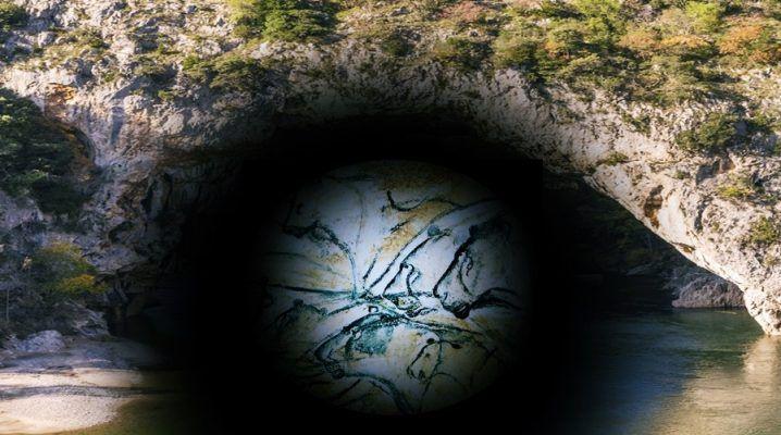 Chauvet Höhle Fluss Ardeche Frankreich Höhlenmalereien
