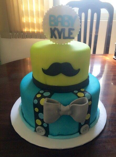 Little gentleman cake!                                                                                                                                                                                 More