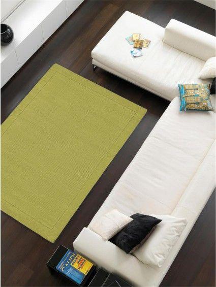 Uni Wool Rug Green