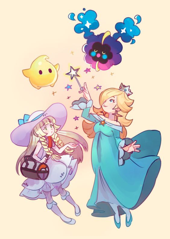 Rosalina and Lillie are so good together