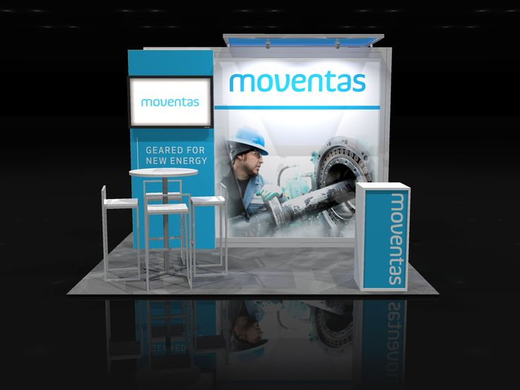 MOVE003 U2013 10×10 Trade Show Booth Rental Find More On Xibitmax.com Or