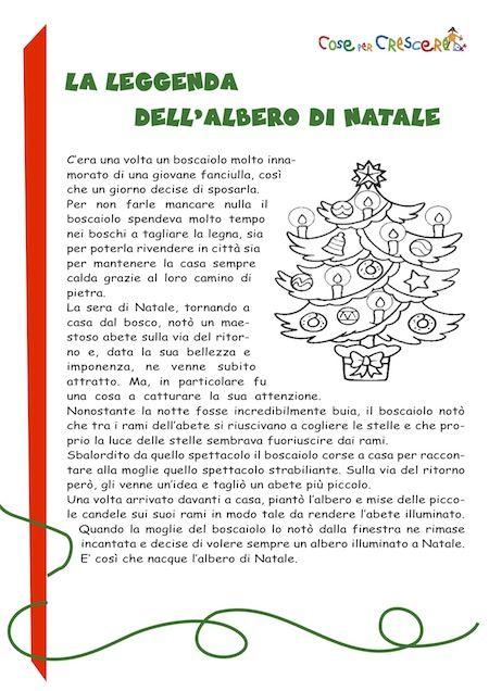 La Leggenda Dellalbero Di Natale Storia Per Bambini Lingua