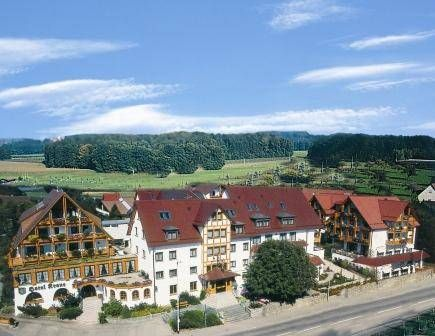 Ringhotel Krone Friedrichshafen Just a 5-minute drive from Lake Constance, this family-run 4-star superior hotel enjoys a peaceful, rural location on the outskirts of Friedrichshafen. It boasts extensive sports and wellness facilities.