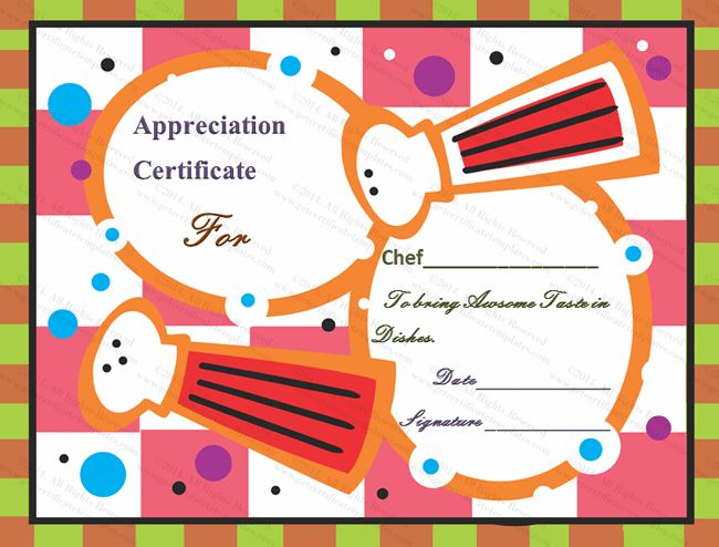 37 best Certificate of Appreciation Templates images on Pinterest - food voucher template