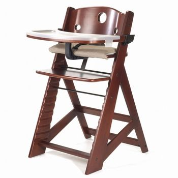 you cant outgrow the keekaroo height right high chair this wooden high chair offers the - Ciao Portable High Chair