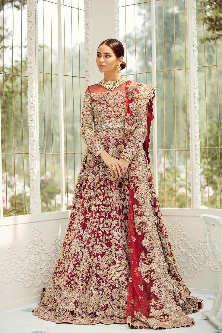 IRIS'19 in 2020 Pakistani bridal lehenga, Designer
