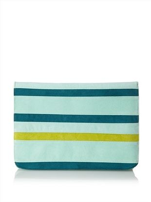Shiraleah Women's Elsa Ipad Clutch, Mint
