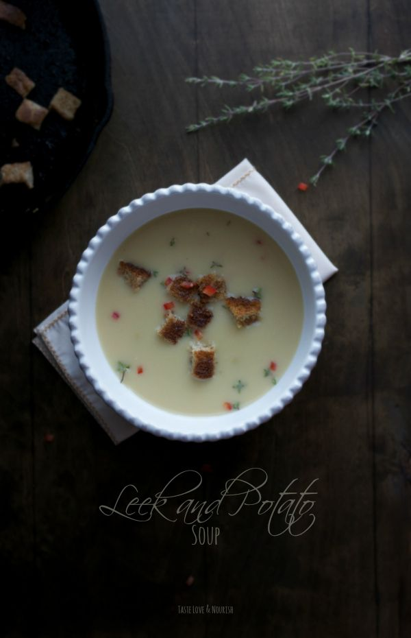 This soup is so creamy and delicious, but you'd never know it's actually very light and low in fat!