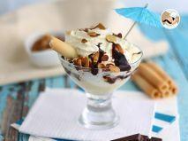 Ricetta Coppa gelato dama bianca