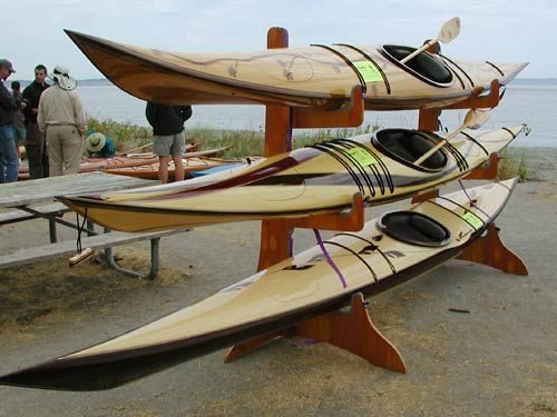 How To Build A Wooden Kayak Storage Rack - WoodWorking ...