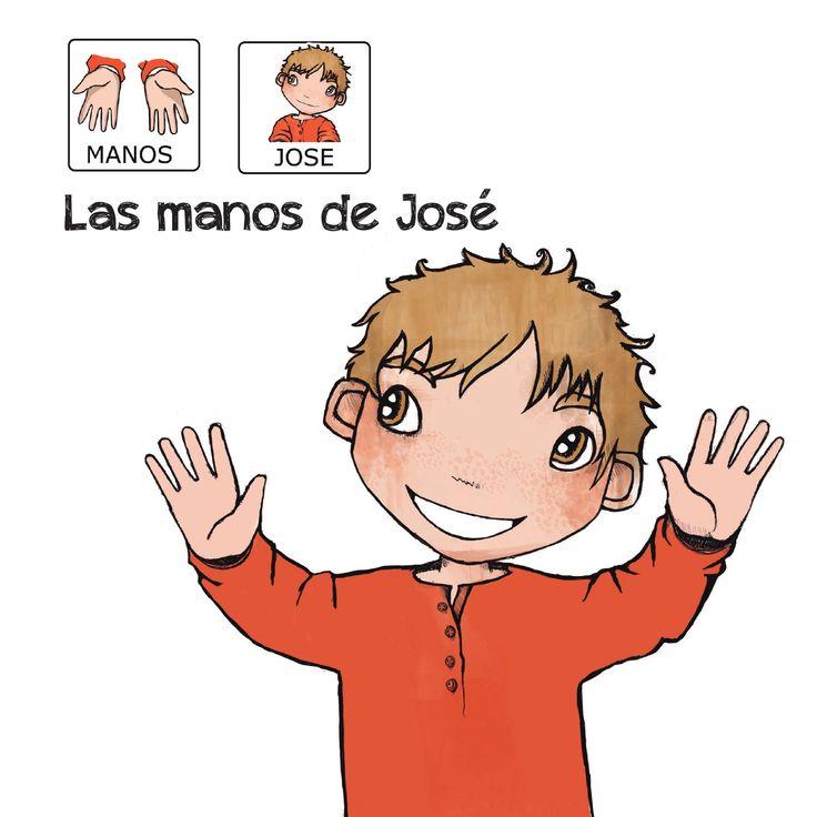 """""""Las manos de José"""" -  Proyecto sin ánimo de lucro que consiste en la creación, producción y difusión de cuentos infantiles adaptados a pictogramas para niños con autismo y otras necesidades especiales de aprendizaje, http://www.aprendicesvisuales.com/cuentos/"""