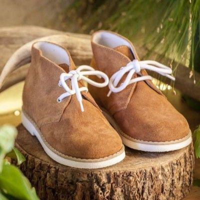 Billy Suede Boots - Tan