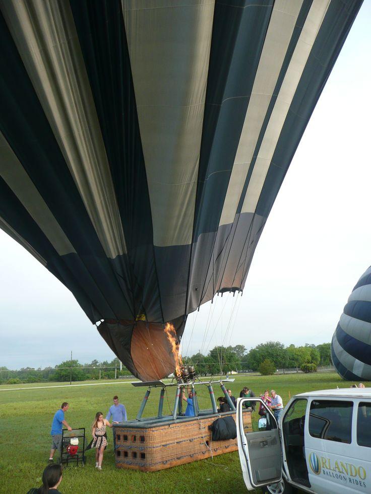 Hot air balloon ride Orlando