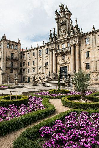 Santiago de Compostela, Galicia, Spain.
