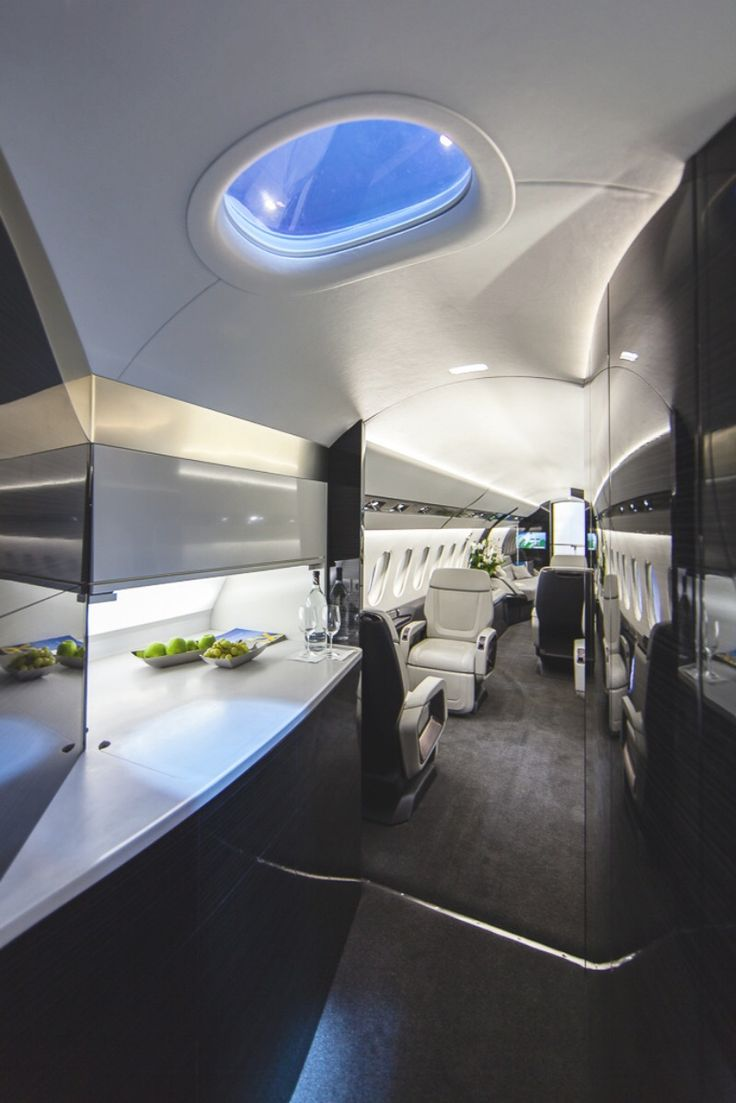 Private jet interior furnished like a vintage train aviation - Private Plane Luxury Lifestyle Pinterest Private Plane And Planes