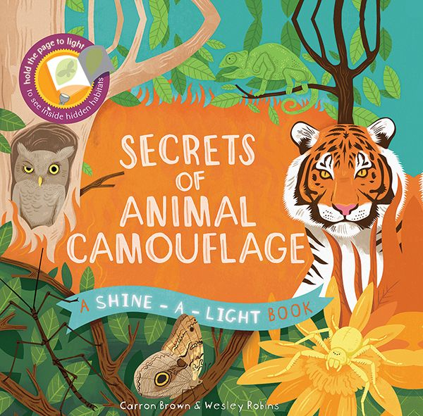 Many other titles available in this same series. For 3-6 yos. Bright, punchy artwork makes every page an adventure in the latest title in the best-selling Shine-A-Light series. A hidden world of snow-covered Arctic foxes, tree-trunk hiding owls, and perfectly camouflaged butterflies will be revealed as you hold the pages to the light.
