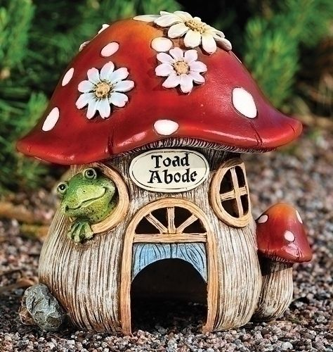This is the Toad abode that I like. I love frogs and toads and I enjoy finding them in my garden!