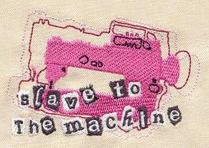 This is SO me...Machine embroidery design by #urbanthreads.com. : Machine Embroidery Design