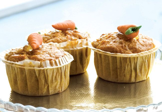 Lean carrot cake muffins - IMAGE - Women's Health and Fitness