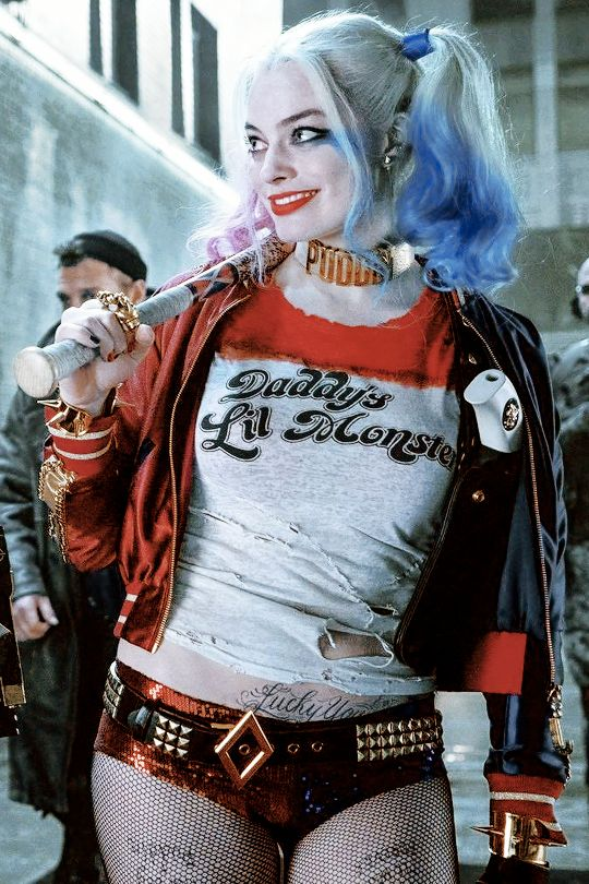 "harleyquinnsquad: ""New shot of Harley Quinn in Suicide Squad """