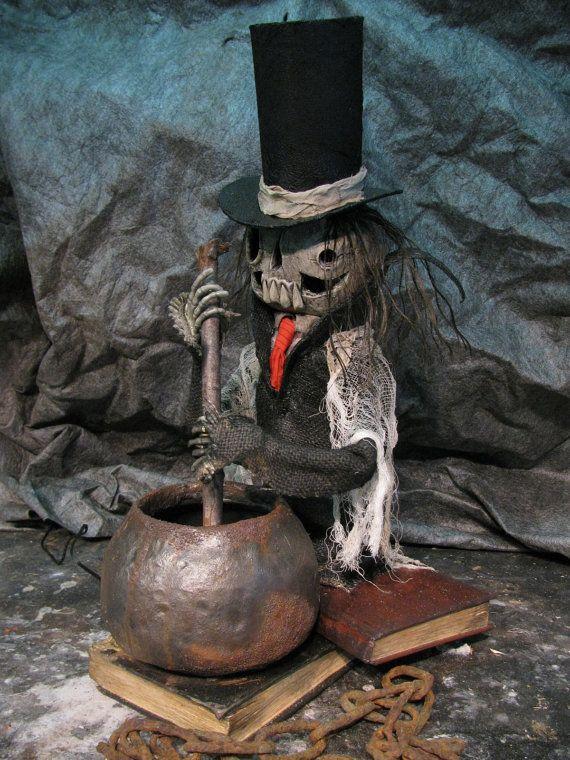 Luther Motorized  Skeleton stirring Cauldron by theshadowfarm, $250.00: Stir Cauldron, Luther Motors, Motors Skeletons, Skeletons Stir, Theshadowfarm
