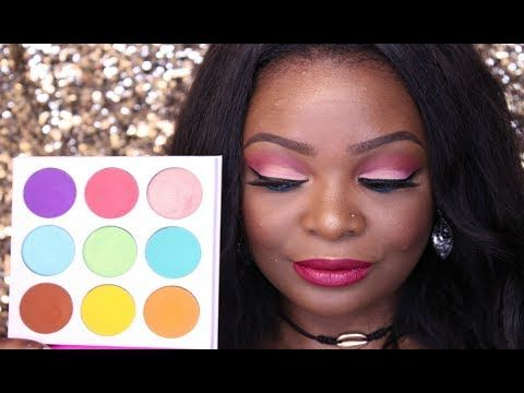 JUVIA'S PLACE THE ZULU PALETTE | SWATCHES + REVIEW - YouTube
