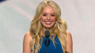 Tiffany Trump addresses the Republican National Convention