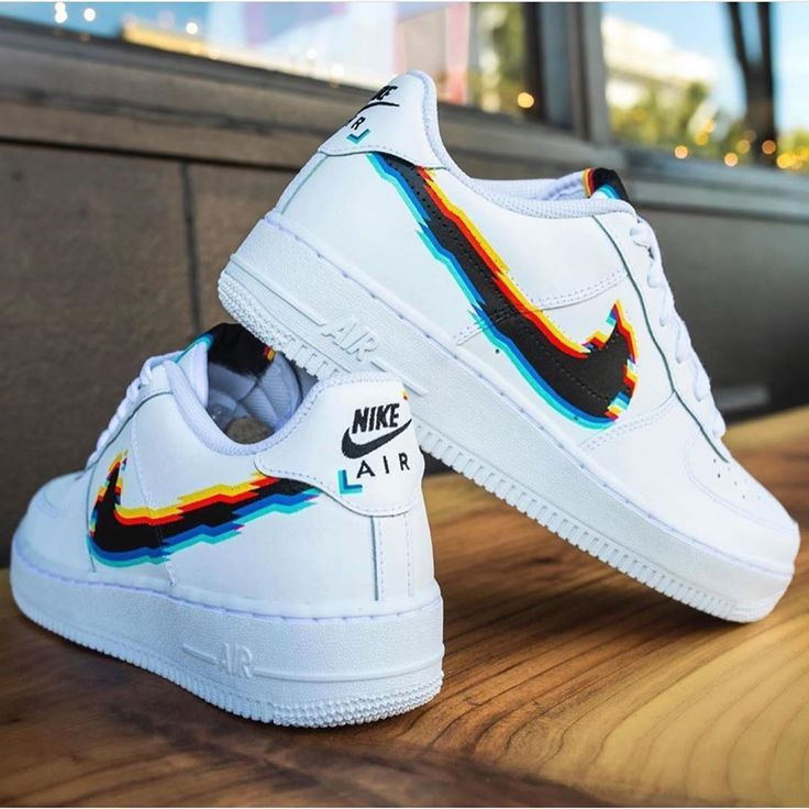 air force 1 glitch custom