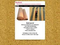 Kurkrol gebruiken als wandbekleding en schilderen   Kurkrol.nl