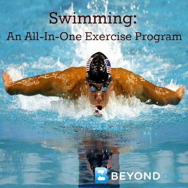 Swimming An All In One Exercise Program Wellness Swim Trainings Pinterest Swimming