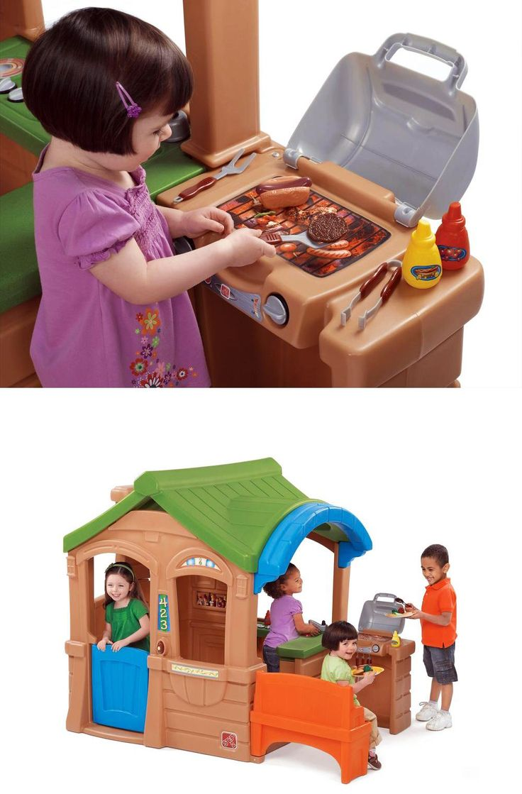 Find great deals on Fisher price outdoor playhouse Outdoor Games & Fun, including discounts on the Step 2 Gather & Grille Playhouse.