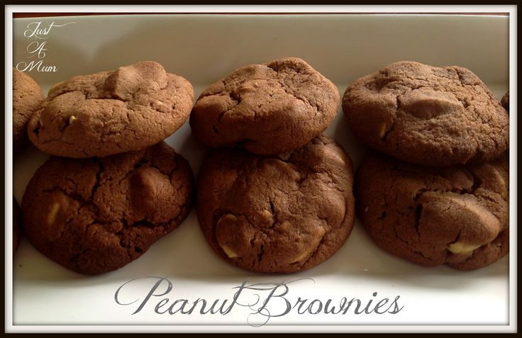 Peanut Brownie Biscuits