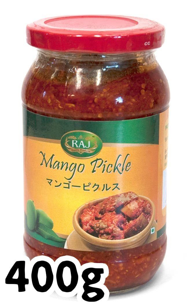 ピクルス エスニック アジア インド 食品 食材 RAJRAJ インド料理 アチャール マンゴー スパイス カレー インドアジアの食材・食器。インドのピクルス (アチャール) - マンゴー 【RAJ】 | 【レビューで50円キャッシュバック!】