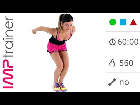 60 Minuti: Allenamento Completo con Esercizi per Dimagrire e Tonificare - YouTube