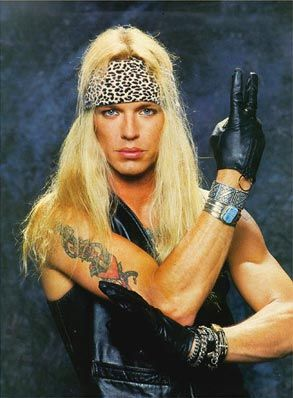 Bret Michaels *** Circa 88-89 Every Rose Has It's Thorn TATTOO