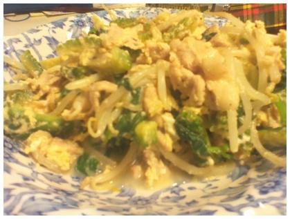 ゴーヤチャンプル http://www.tokyonew.com/hirohiro3/?p=1799