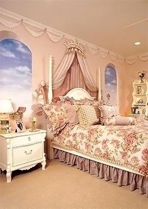 комната принцессы детская комната для девочки 11