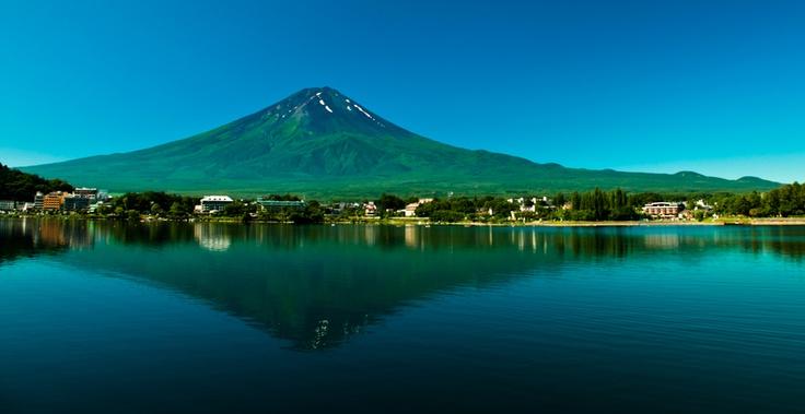 Volcano Fuji, Japan