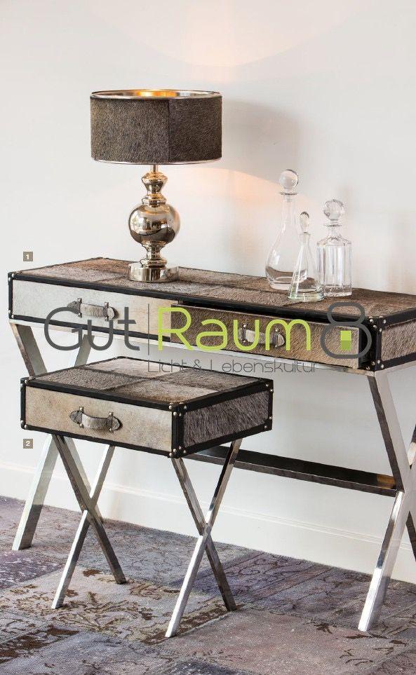 Besondere Möbel & Tische aus Kuhfell bei GutRaum8