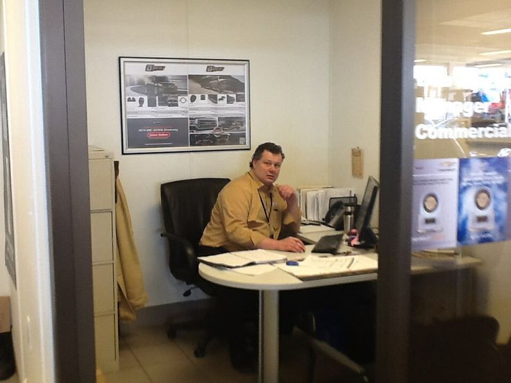 Bob is our fleet manager,pop by and say hi anytime