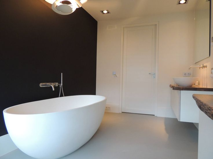 Badkamers : Moderne badkamers van Design Gietvloer