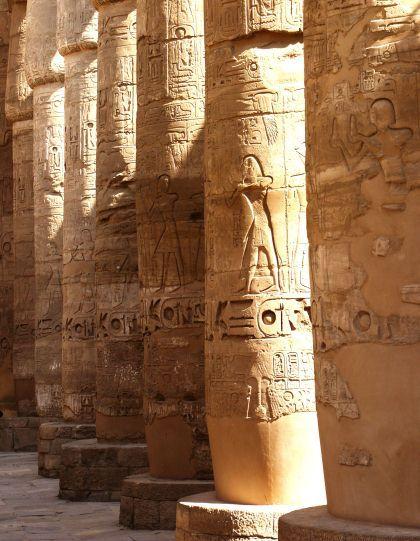 Hypostyle Hall, Temple of Amun, Karnak, Egypt, ca. 1290-1224 BCE