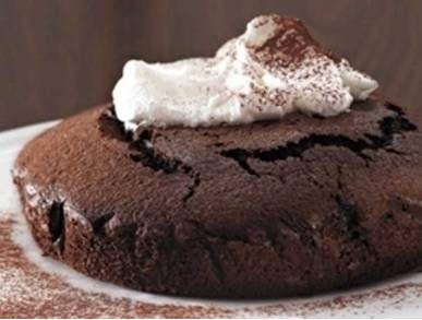 čokoládový moučník