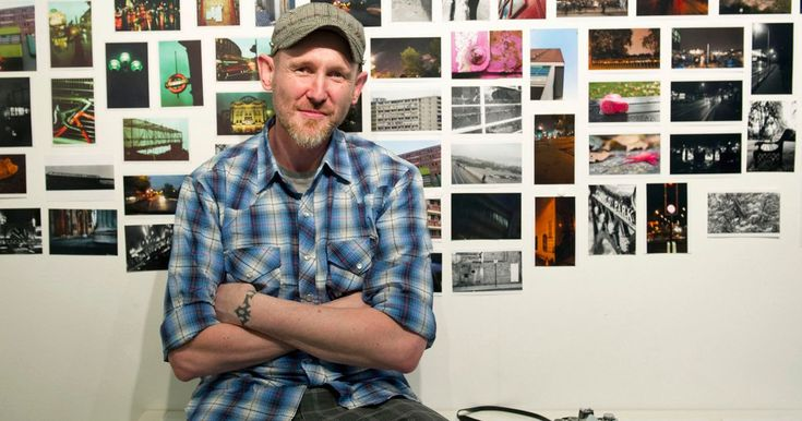 David Tovey battled cancer while living on the streets but now, three years later, he has a solo show hosted by the Royal Photographic Society